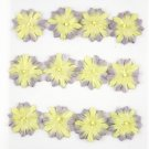 Prima Marketing Inc. - Artist's Aids Mini Flower Yellow and Purple