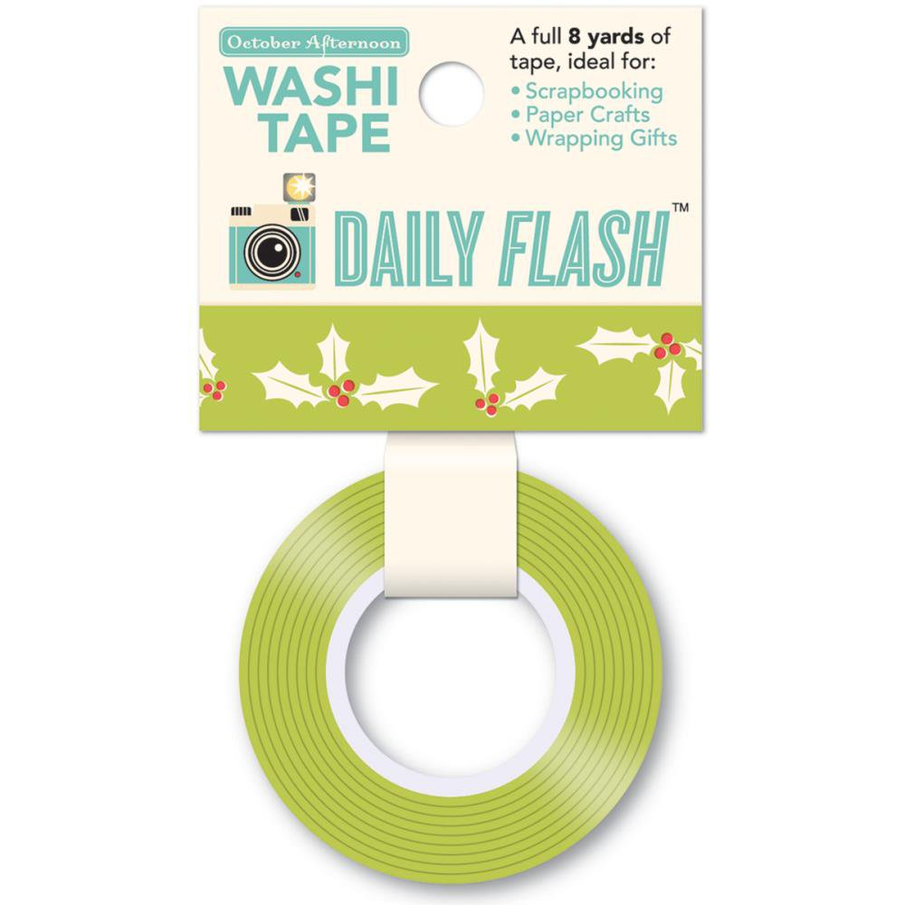 October Afternoon - Daily Flash Washi Tape Vol 2 Holly Jolly