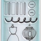 Ranger Ink - Studio by Claudine Hellmuth - Clear Acrylic Stamps - Domestic