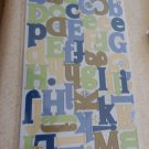 Fiskars - Cloud 9 Design Cardstock Alphabet Stickers - Travel