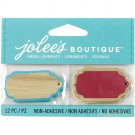 Jolee's Boutique Wood Tags