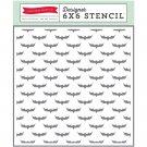 Echo Park Paper-Stencil Hocus  Pocus Bats