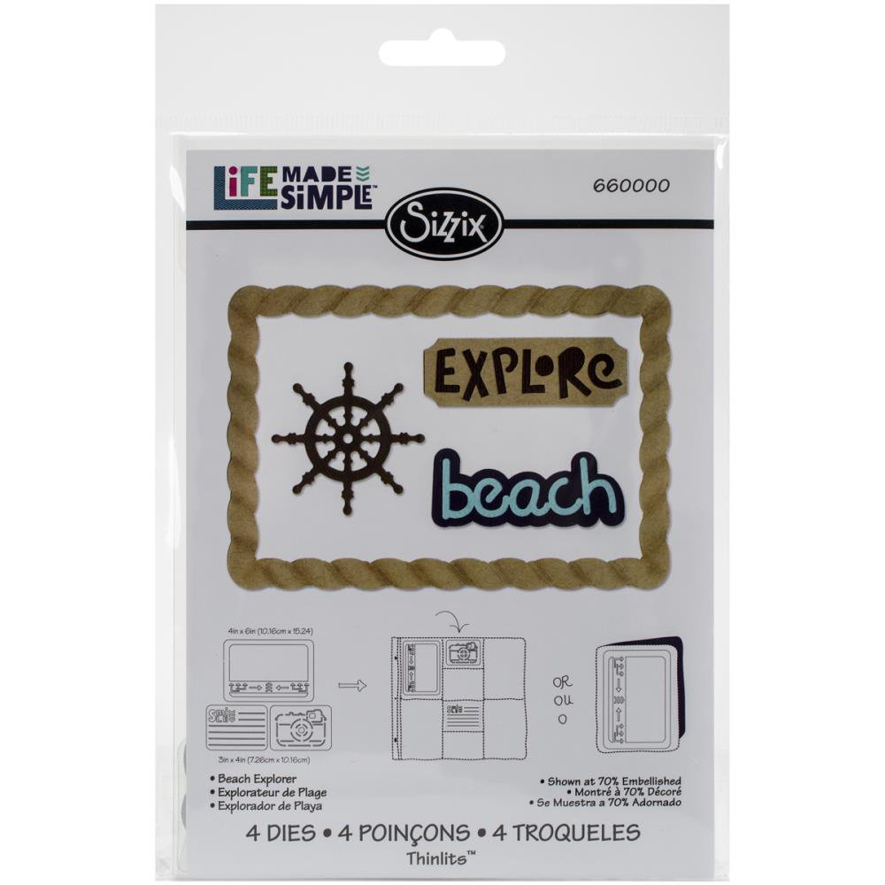 Sizzix-Life Made Simple - Beach Explorer