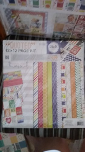 We R Memory Keepers - Teresa Collins - 12 x 12 Page Kit - Quoted