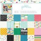 Pebbles Birthday Wishes 12x12 Pad
