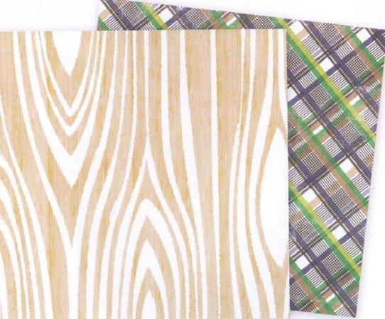 Glitz Design Inc. - Dapper Dan Collection - woodgrain