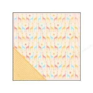 Making Memories - Animal Crackers - Ella 12x12 patterened paper