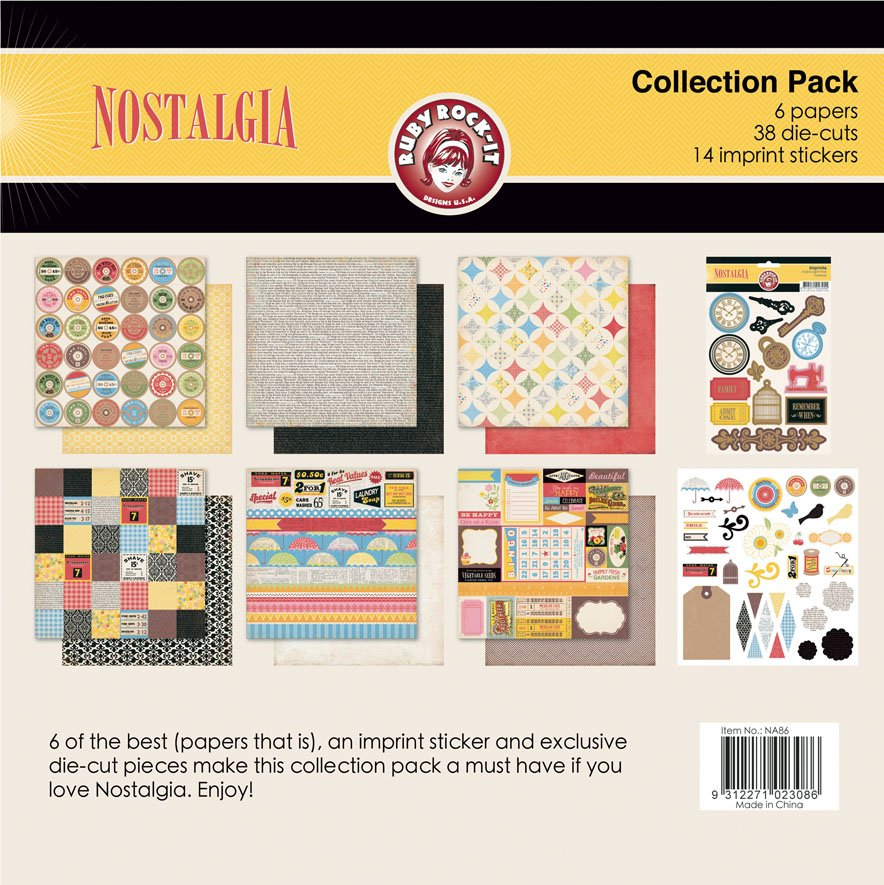 Ruby Rock-it Nostalgia Collection Pack