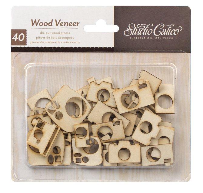 Studio Calico Wood Veneer Camera