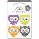 Doodlebug Design - October 31st Collection Doodle-Pops - lil' owls