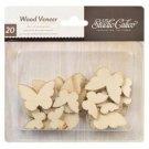 Studio Calico Wood Veneer Butterflies