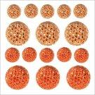 Kaisercraft Sparklets - Coral