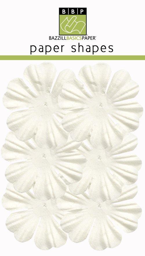 "Bazzill Paper Flowers 1.75"" -primula natural"