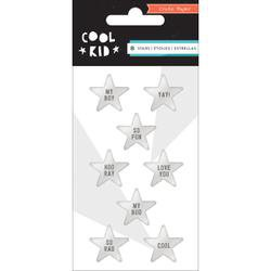 Crate Paper - Cool Kid Collection - Resin Stars