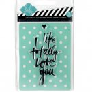 Heidi Swapp - love you stamp and stencil set