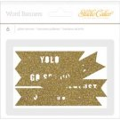 Studio Calico WANDERLUST Glitter Die Cut Banners
