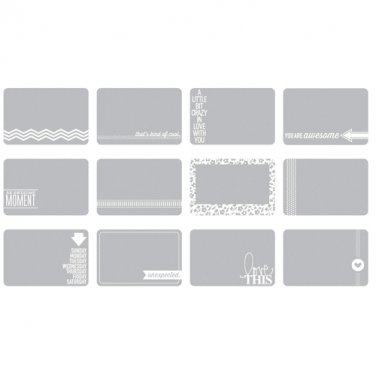 AMERICAN CRAFTS-Project Life Collection: Photo Overlays - Set #4