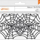 American Crafts - Halloween Collection - Doilies - Small Spiderwebs