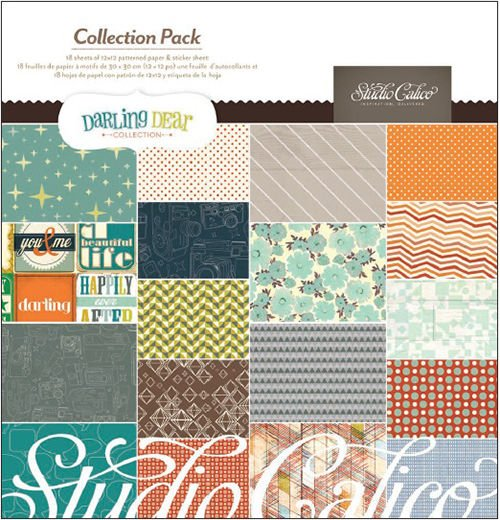 Studio Calico Darling Dear Collection Paper Pack - 331240