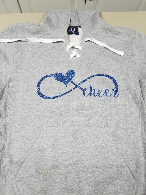 Infinity Cheer Hockey Laced Sweatshirt