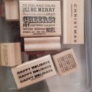 Stampin' Up Glad Tidings Set