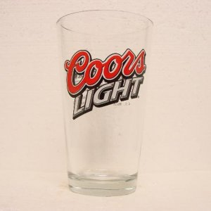 COORS LIGHT Pint Glass - Tavern on the Creek - Buffalo, WY