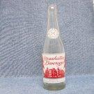 MANHATTAN BEVERAGES Soda Bottle - Manhattan Bottling Co. - Woonsocket, R.I. - 7 oz.