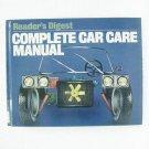 COMPLETE CAR CARE MANUAL - Reader's Digest - © 1981