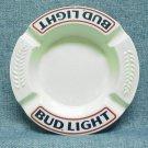 BUD LIGHT Beer Ceramic Ashtray - Round