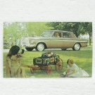 STUDEBAKER CRUISER Post Card - 1963 - unused