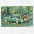 STUDEBAKER LARK WAGONAIRE Post Card - 1963 - unused
