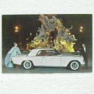 STUDEBAKER 1962 GRAN TURISMO HAWK Post Card - unused