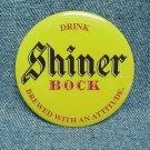 "SHINER BOCK Beer Pinback - 2-1/4"""