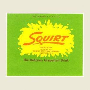 SQUIRT Bottle Label - Squirt Bottling - Westfield, WI - 1 pt. 8 oz.