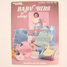 BABY BIBS TO CROCHET - Leisure Arts #416 - Sue Penrod - 1986