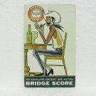 SIMON PURE Beer Bridge Score Folder - William Simon Brewery- Buffalo, NY