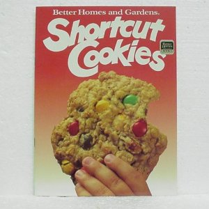 SHORTCUT COOKIES Cookbook - Better Homes and Gardens - ©1988