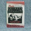 COORS LIGHT THIRSTY THURSDAYS Pinback - Coors - Golden, CO - ©2001