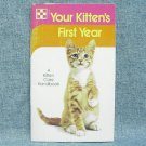 Your Kitten's First Year paperback book - ©1975 - Purina
