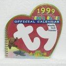 TY BEANIE BABIES OFFICIAL CALENDAR 1999 - Weekly Desk Calendar - Unused