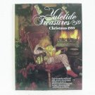 YULETIDE TREASURES CHRISTMAS 1989 - Crafts and Cookbook - ©1989 - Heritage House