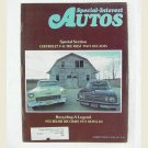 SPECIAL-INTEREST AUTOS Magazine - March April 1975 - '55 Chevy Bel Air, Small block Chevy V-8