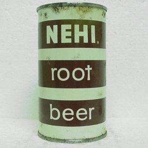 NEHI ROOT BEER Can - Beverages Of Billings - Billings, MT - flat top