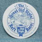 OLD STYLE Beer Coaster Mat - Raft Race - G. Heleman - LaCrosse, WI - 1989