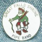 GREAT FALLS SHRINE PIPE BAND Enameled Pin - Great Falls, MT