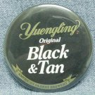 "YUENGLING ORIGINAL BLACK & TAN Beer Pin Pinback - Metal - 3"" - Round"