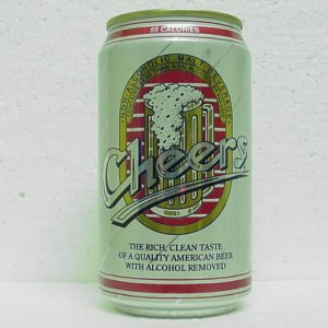 CHEERS NON ALCOHOLIC MALT BEVERAGE - Pabst Brewing Co. - 2 cities - StaTab - alum.