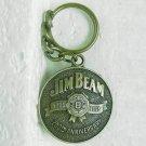 JIM BEAM Brass Keyring - 200th Anniversary - 1795 1995