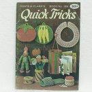 QUICK TRICKS - Coats & Clark's No. 188 - ©1968 - Crochet