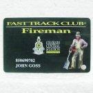 COLORADO CENTRAL STATION CASINO Players Club Card - Black Hawk, CO - Fireman